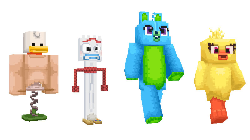 Toy Story 4 Minecraft personajes 8