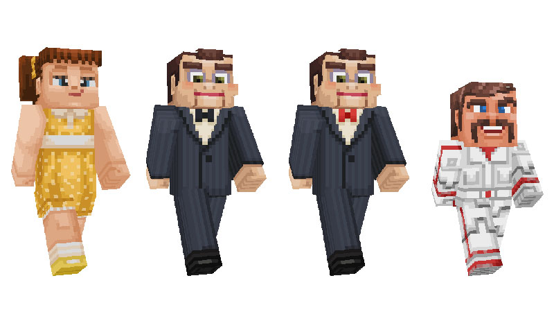 Toy Story 4 Minecraft personajes 9