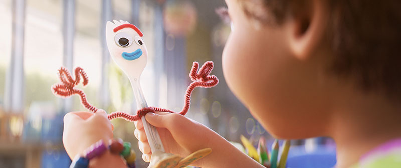 Toy Story 4 imagenes posters FORKY