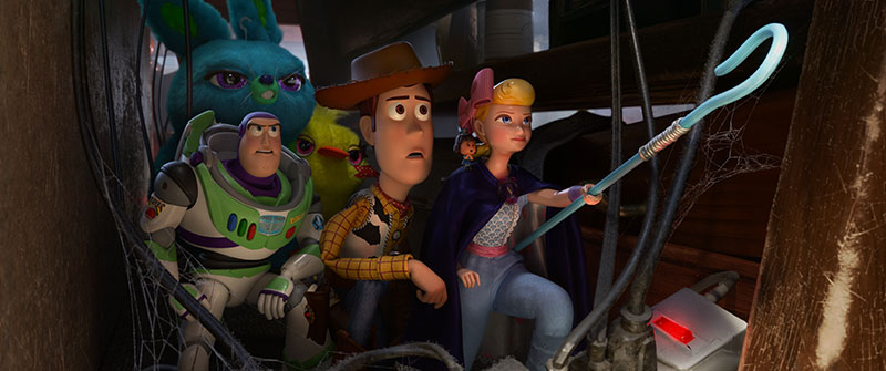 Toy Story 4 imagenes posters atajo