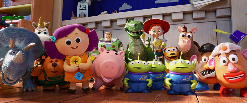 Toy Story 4 imagenes posters pandilla