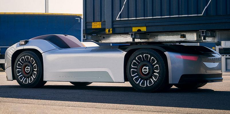 Vera, el vehículo eléctrico, conectado y autónomo de Volvo Trucks