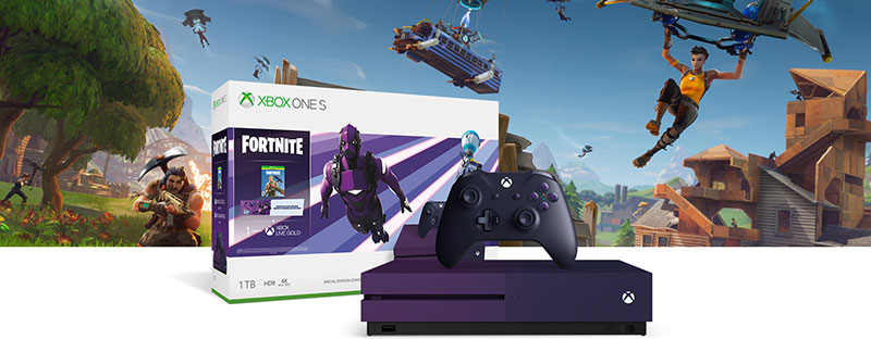 Xbox One S Fortnite Battle Royale precio