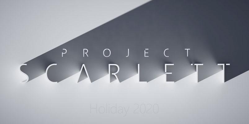 Xbox Project Scarlett en 2020 con resolución 8K y retrocompatibilidad