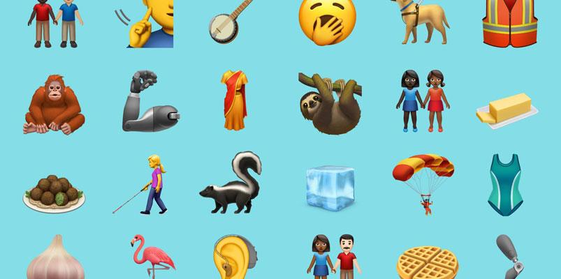 Los 65 nuevos emojis para celebrar el Día Mundial del Emoji