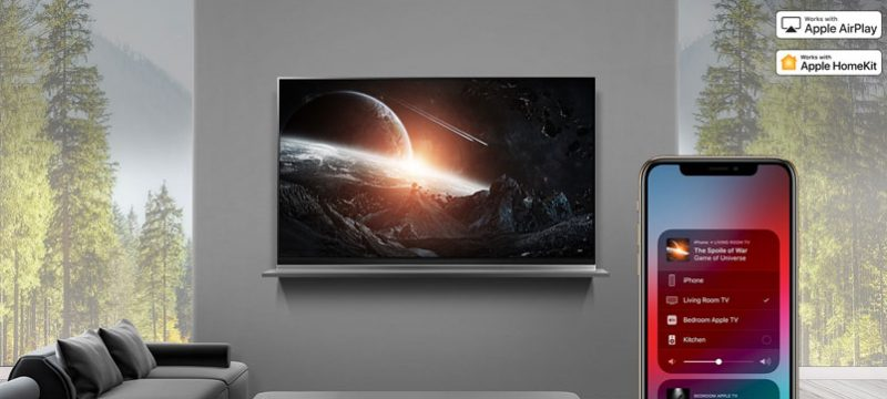 Apple AirPlay 2 LG TV AI ThinQ 2019