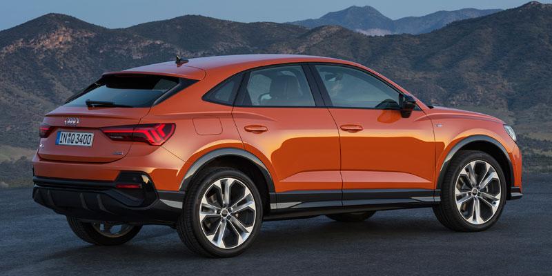 Audi Q3 Sportback naranja