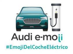 Audi emoji e-moji