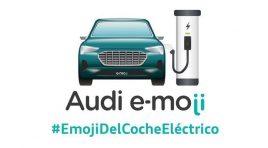 Audi propone el e-moji, el emoticón de los coches eléctricos