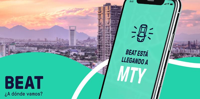 Beat inicia el reclutamiento de conductores en Monterrey