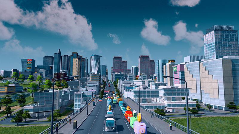 Cities Skylines Nintendo Switch ciudades