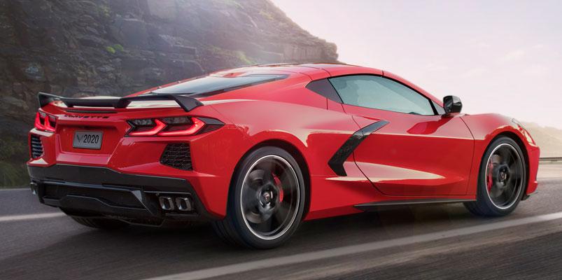 Corvette Stingray 2020 costado
