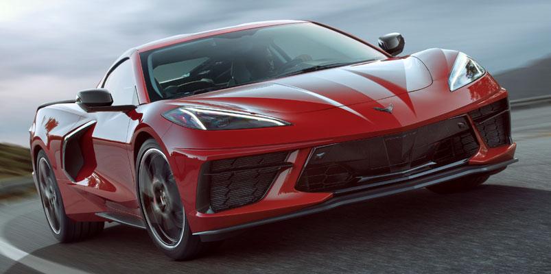 Stingray 2020 con motor central es el Corvette más rápido y potente