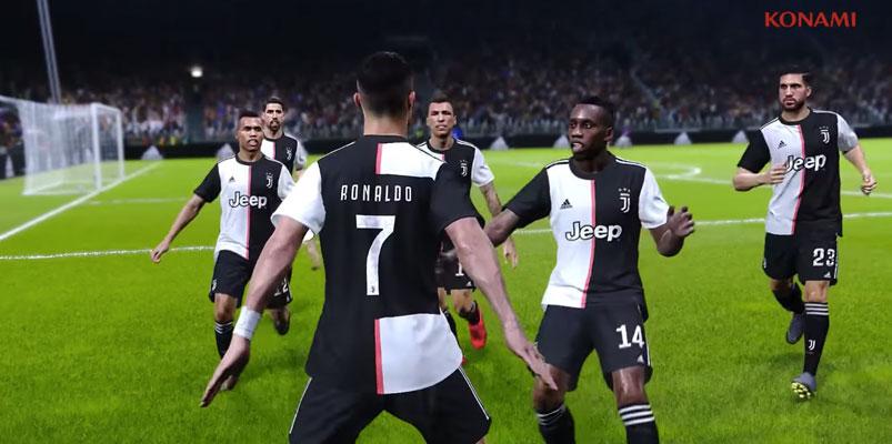 La demo de eFootball PES 2020 ya está lista para jugarse