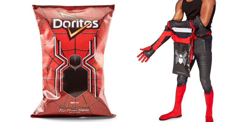 Doritos replica oficial traje Spider Man