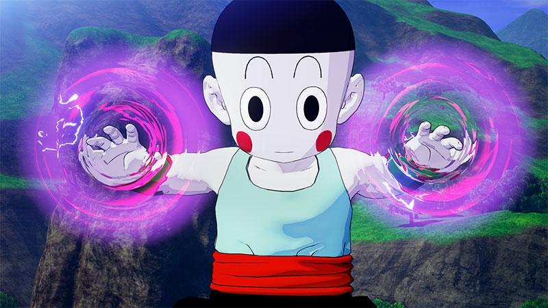 Dragon Ball Z KAKAROT Chiaotzu Telekenesis