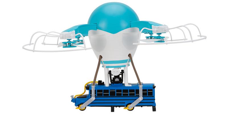 El autobús de batalla de Fortnite ahora es un drone cortesía de Jazwares