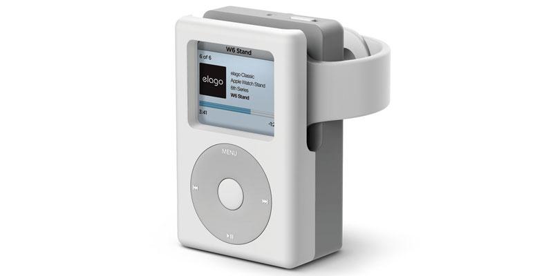 Con el Elago W6 conviertes tu Apple Watch en un iPod Classic