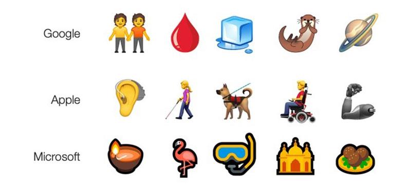 Emoji nuevos 2019
