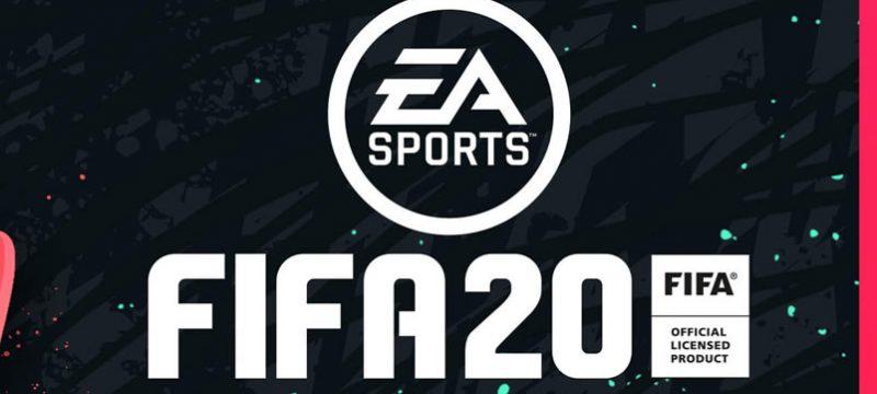 FIFA 20 logo rosa
