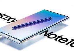 Galaxy Note 10 posibles especificaciones