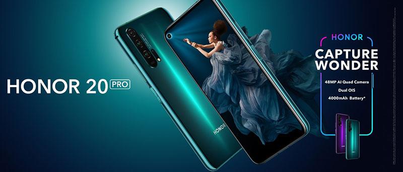 Honor 20 Pro venta especificaciones
