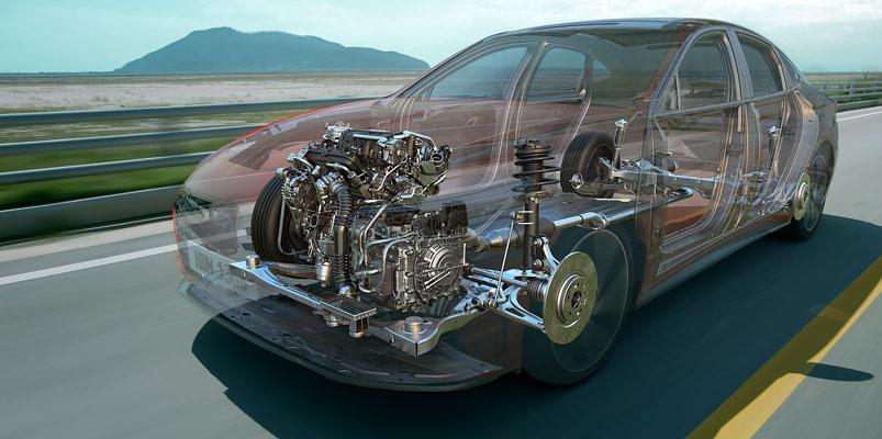 Hyundai Smartstream G1.6 T GDi Sonata Turbo