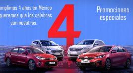 KIA cumple 4 años en México y aquí las promociones que lo celebran