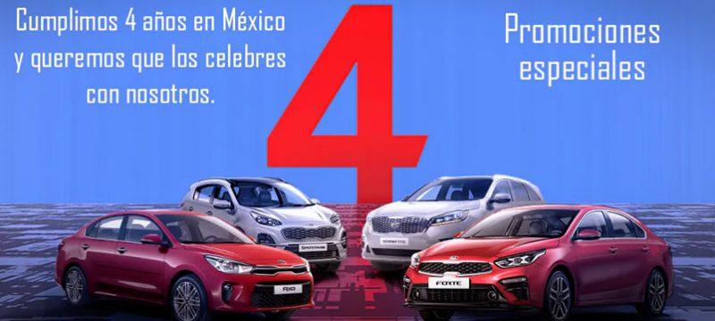 KIA 4 años promos Mexico