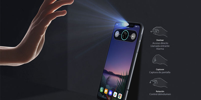 LG G8S ThinQ, el primero que se controla con gestos listo para México