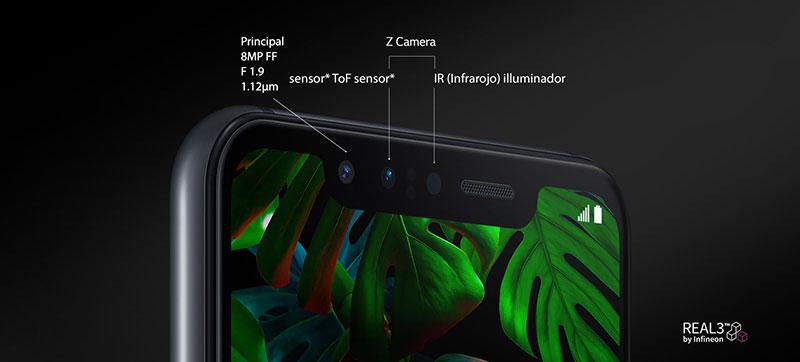 LG G8S ThinQ Z Camera sensores
