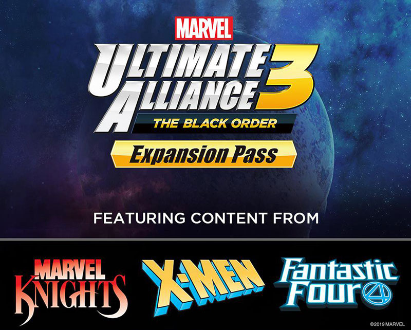 Marvel Ultimate Alliance 3 The Black Order Expansion Pass