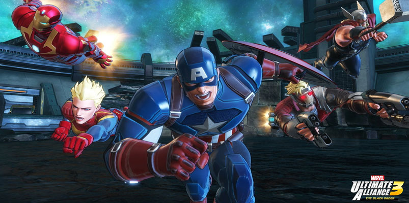Marvel Ultimate Alliance 3: The Black Order listo para Switch