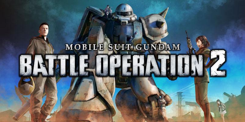 Mobile Suit Gundam Battle Operation 2 llegará a America en PS4