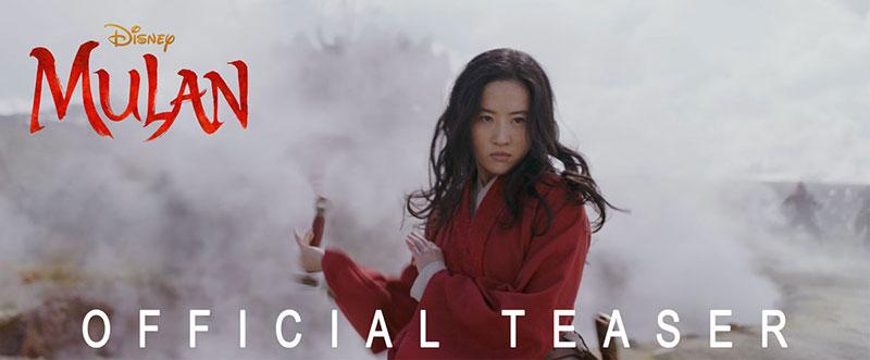 Mulan 2020 teaser