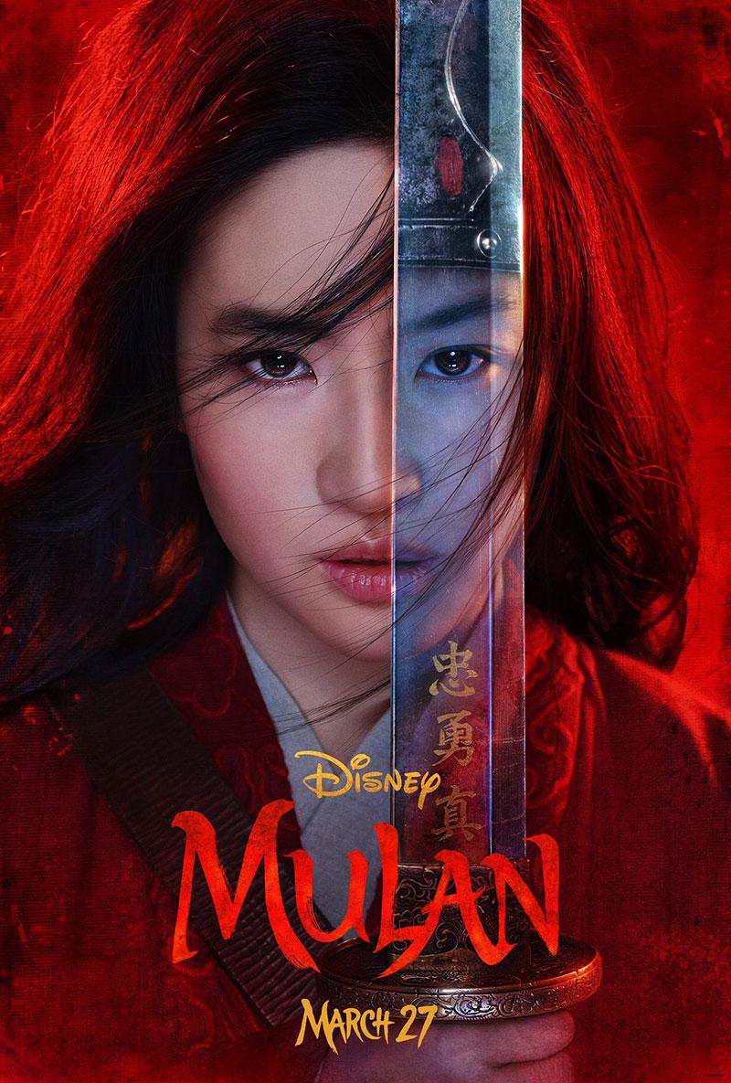 Mulan 2020 primer poster