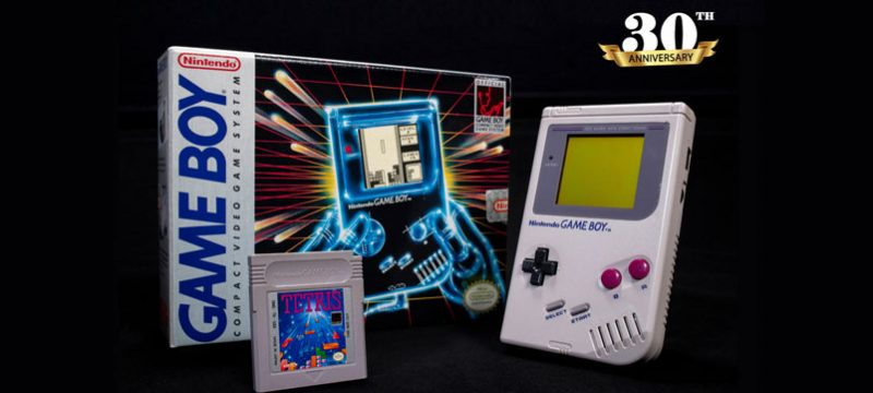 Nintendo Game Boy 30 aniversario