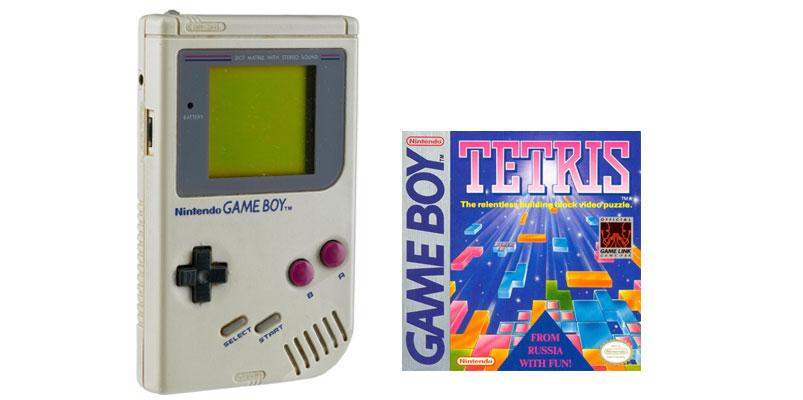 Nintendo Game Boy 30 aniversario Tetris