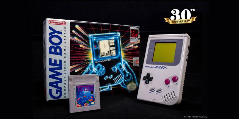El primer Game Boy celebra tres décadas en América