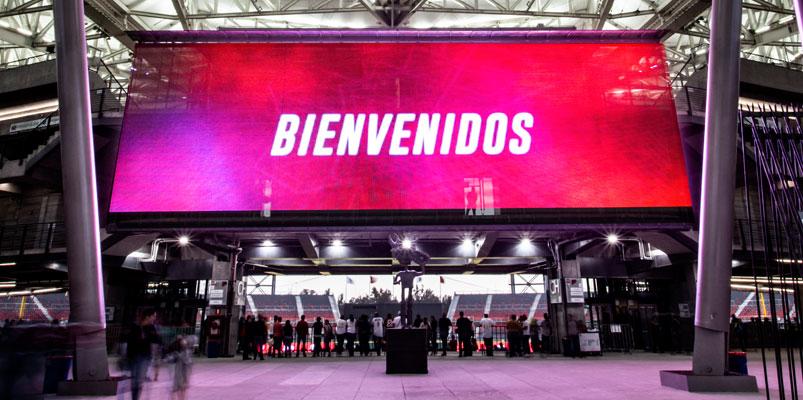 Panasonic y Artcoustix dan vida al nuevo Estadio Alfredo Harp Helú