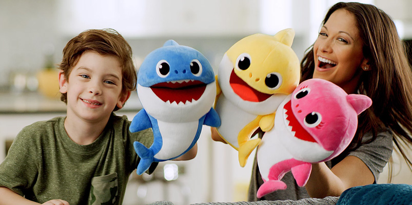 Baby Shark Fingerlings y Pinkfong Baby Shark Puppets de WowWee