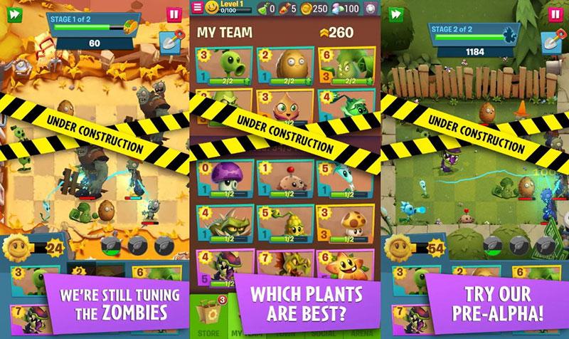 Plants vs Zombies 3 pre-alpha avance