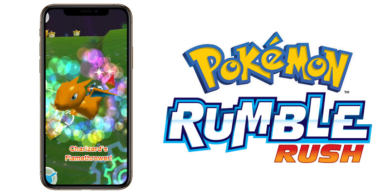 Pokémon Rumble Rush ya está disponible para iPhone e iPad