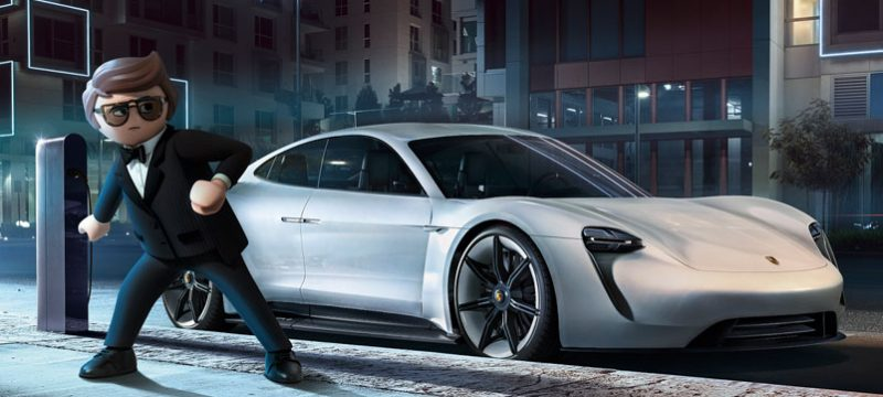 Porsche Mission E Rex Dasher