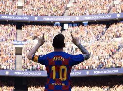 Portada Messi eFootball PES 2020
