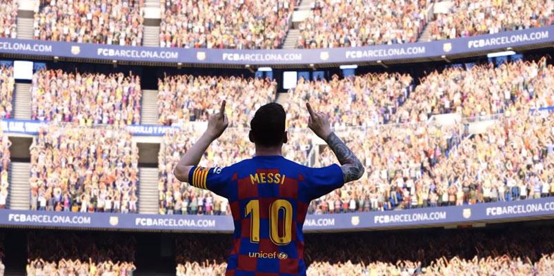 Messi, Gnabry, Pjanić y McTominay en la portada de eFootball PES 2020