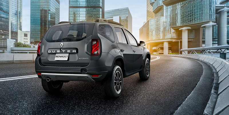 Renault Duster Connect atras