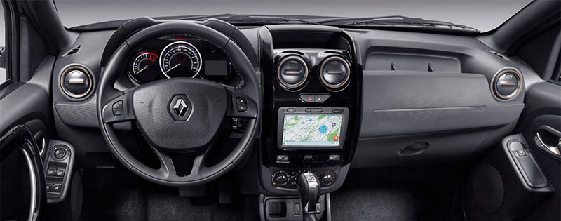 Renault Duster Connect interior