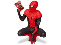 Replica oficial traje Spider Man