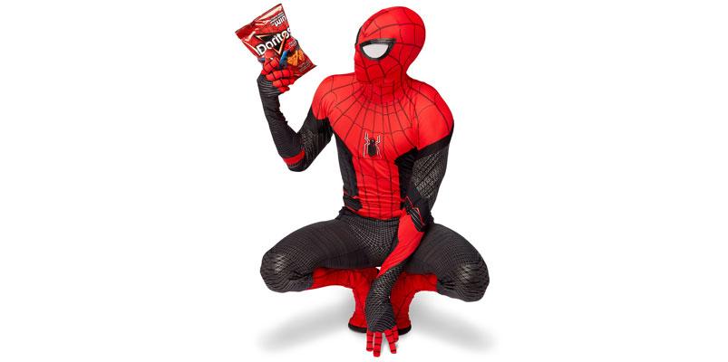 "Doritos te regala la réplica oficial del traje de Spider-Man ""Black & Red"""